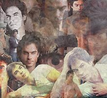 Ian Somerhalder Aka Damon Salvatore by ArtLoverxoxo