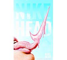 NIKE HEAD Photographic Print