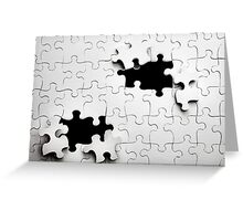 Jigsaw Greeting Card