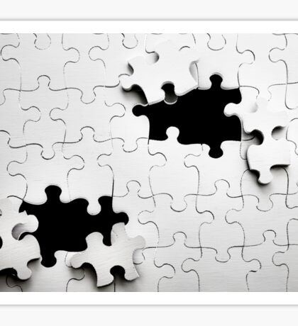 Jigsaw Sticker
