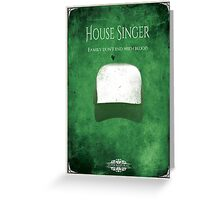 House of Singer Greeting Card