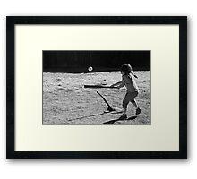 Sandlot T-Ball Framed Print