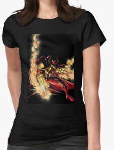 Azrael (Old) Womens Fitted T-Shirt
