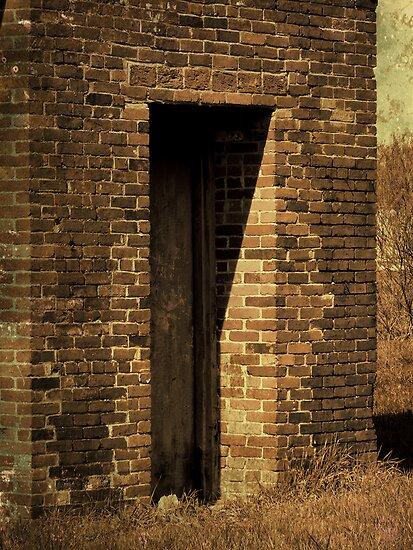 Brick doorway by vigor