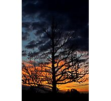 Texas Hill Country Sunrise Photographic Print
