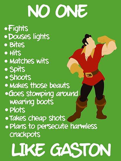 Like Gaston by nimbusnought