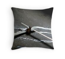 Time is running.. Throw Pillow