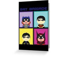 Bat Brigade Greeting Card