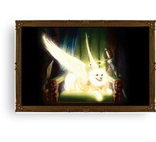 Comet Dog Canvas Print