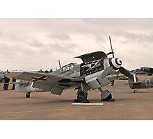 """Messerschmitt BF109 G-4 - """"Rote Sieben"""" Photographic Print"""