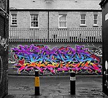 Dublin Graffiti by TheGatsby