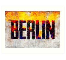 Babylon is Burning Art Print