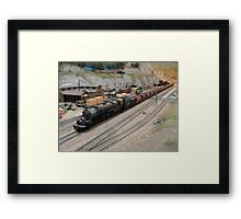 Model Railroading 1 Framed Print