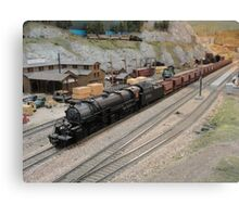 Model Railroading 1 Canvas Print