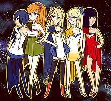 Galaxies' Finest Ladies by Ennemme