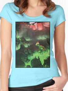Monster Hotspring Women's Fitted Scoop T-Shirt