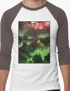 Monster Hotspring Men's Baseball ¾ T-Shirt