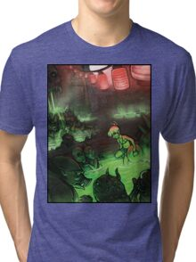 Monster Hotspring Tri-blend T-Shirt