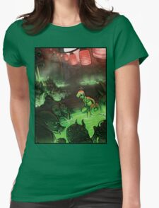 Monster Hotspring Womens Fitted T-Shirt