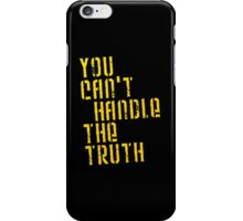 A Few Good Men - You Can't Handle The Truth iPhone Case/Skin