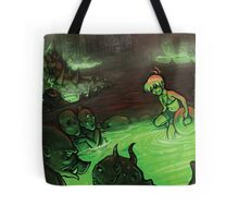 Monster Hotspring Tote Bag