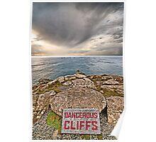 Dangerous Cliffs Poster