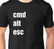 Cmd Alt Esc  Unisex T-Shirt