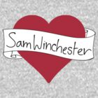 Sam Winchester heart by CharlieS1D