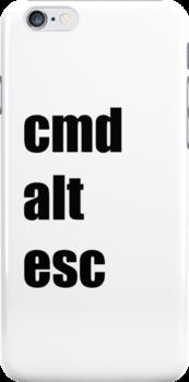 Cmd Alt Esc  by StevePaulMyers