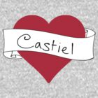 Castiel heart by CharlieS1D