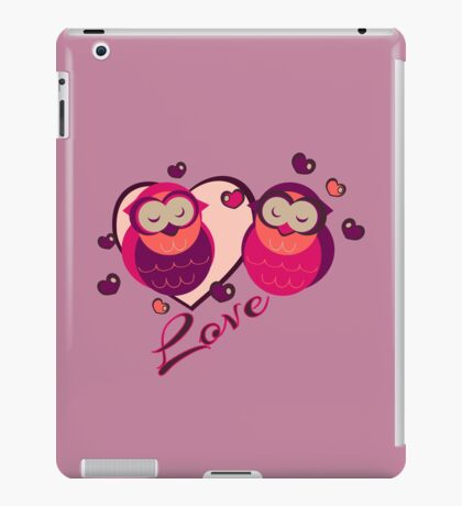 Lovely Owls iPad Case/Skin
