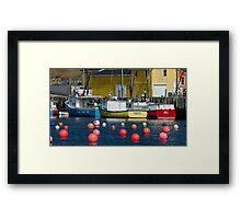 South Shore Fishing Boats Framed Print