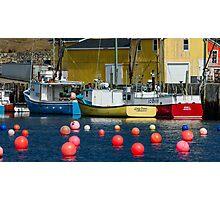 South Shore Fishing Boats Photographic Print