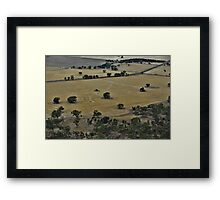 The Ploughed Field Framed Print
