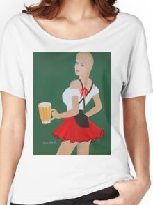 Beer wench t shirt Women's Relaxed Fit T-Shirt