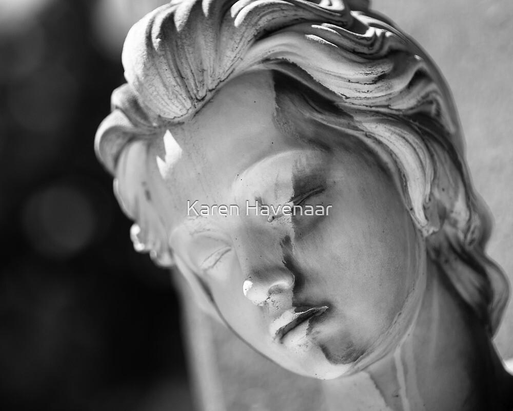 Split Face by Karen Havenaar
