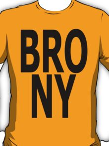 BRONY - (Black Text) T-Shirt