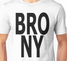BRONY - (Black Text) Unisex T-Shirt