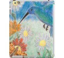 Hummingbird Garden iPad Case/Skin