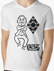 Anon style. Mens V-Neck T-Shirt