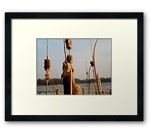 He who stands alone Framed Print