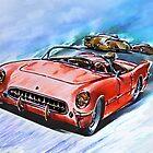 Chevrolet Corvette V8 1955  by andy551