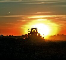 Plowing into the Sun by Studio601