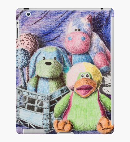 Stuffed Toy Still Life iPad Case/Skin