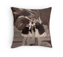 Flowers For the Hosts. Throw Pillow