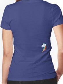 Rainbow Dash's cutie mark Women's Fitted V-Neck T-Shirt