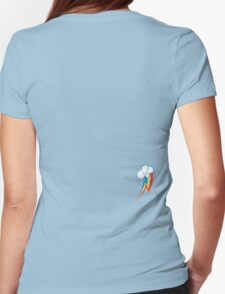 Rainbow Dash's cutie mark Womens Fitted T-Shirt