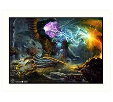Dungeons & Dragons  Art Print