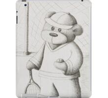 Tennis Teddy iPad Case/Skin