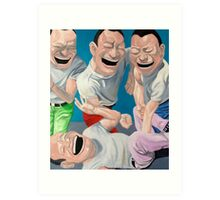 Just Laugh  Art Print